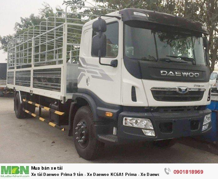 Xe tải Daewoo Prima 9 tấn - Xe Daewoo KC6A1 Prima - Xe Daewoo 9 tấn 4x2 nhập khẩu