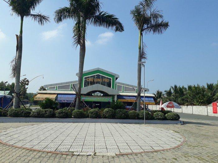 Đất nền khu dân cư chợ Long Phú mới, xã Phước Thái
