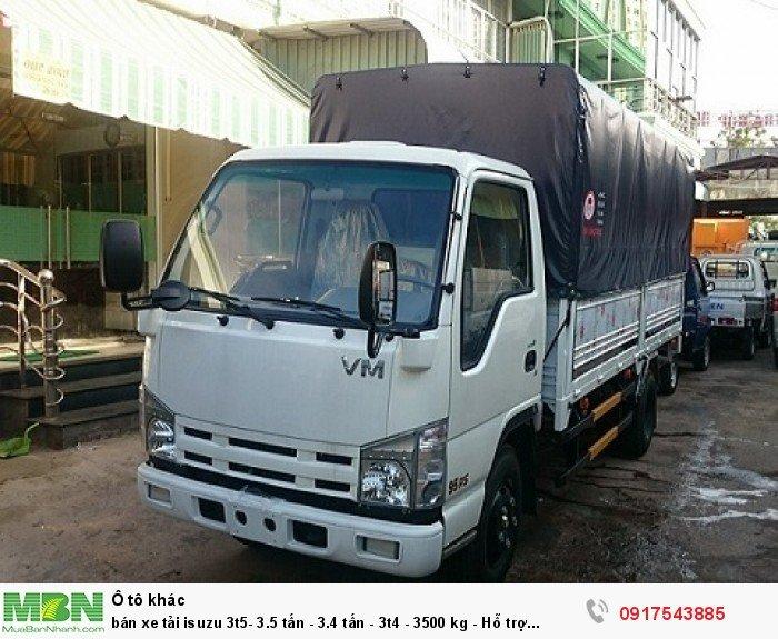 Bán xe tải Isuzu 3t5- 3.5 tấn - 3.4 tấn - 3t4 - 3500 kg - Hỗ trợ trả góp ngân hàng 90% 2