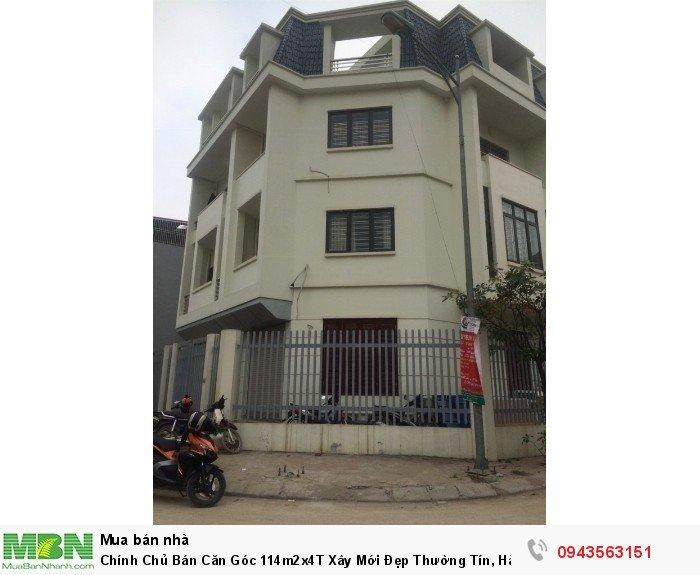 Chính Chủ Bán Căn Góc 114m2x4T Xây Mới Đẹp Thường Tín, Hà Nội