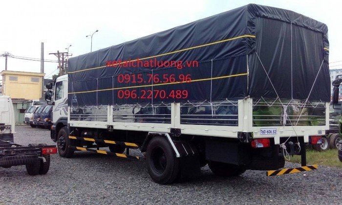 Xe tải Daewoo 9 tấn nhập khẩu