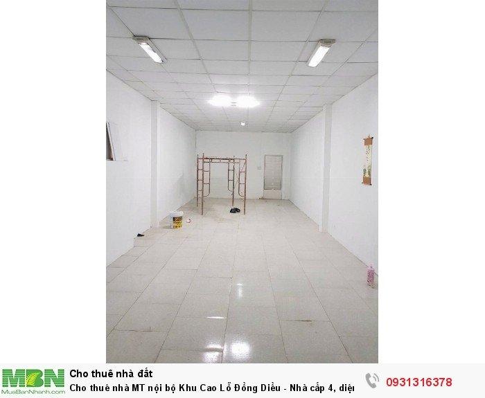 Cho thuê nhà MT nội bộ Khu Cao Lỗ Đồng Diều - Nhà cấp 4, diện tích 4 x 20m