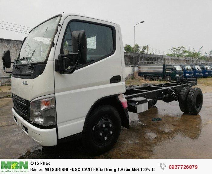 Bán xe MITSUBISHI FUSO CANTER tải trọng 1.9 tấn. Cam kết giá tốt