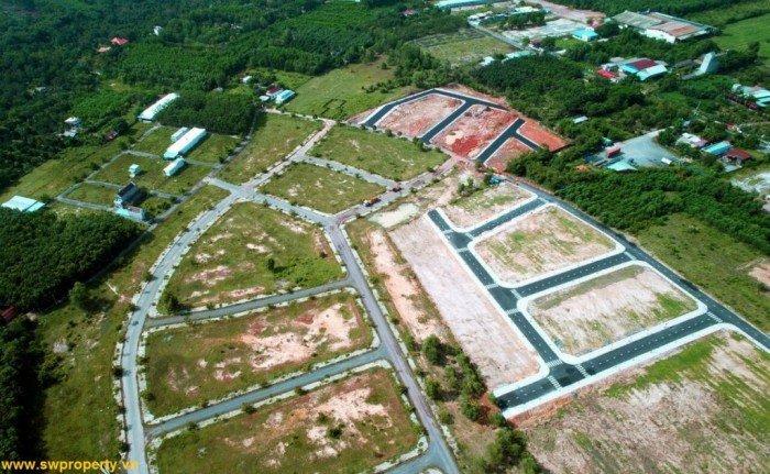 Bán đất khu vực cận sân bay, cách khu tái định cư sân bay, khu CN Lộc An - Bình Sơn 500m.