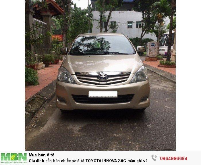 Toyota Innova sản xuất năm 2011 Số tay (số sàn) Động cơ Xăng