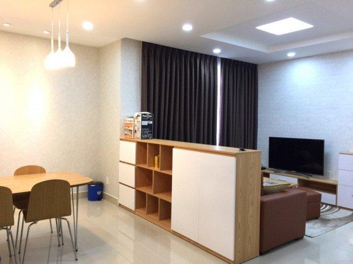 Cho thuê căn hộ Him Lam Chợ Lớn, Q.6 ( 86m2, 2PN, 2WC), nhà mới full nội thất