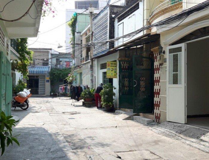 Bán nhà 2 mặt tiền HXH Cách Mạng Tháng Tám, Q10. Dt: 6.5x17m, trệt, 4 lầu