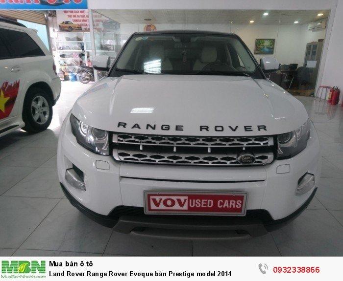 Land Rover Range Rover Evoque bản Prestige model 2014