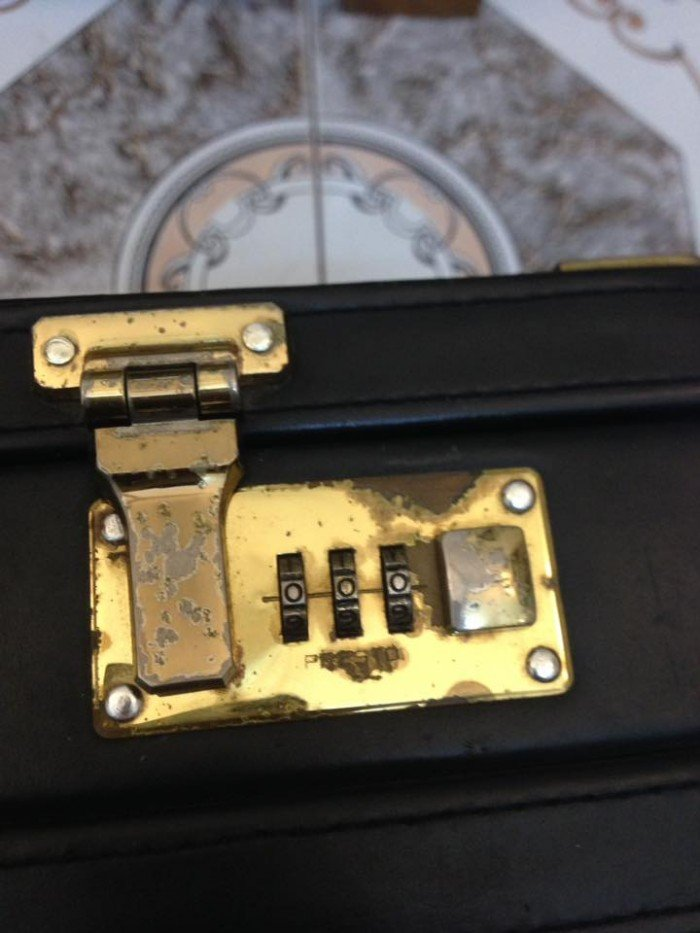 Vali xách tay Presto kt 33,5x45,5x10,5cm 02 mã số