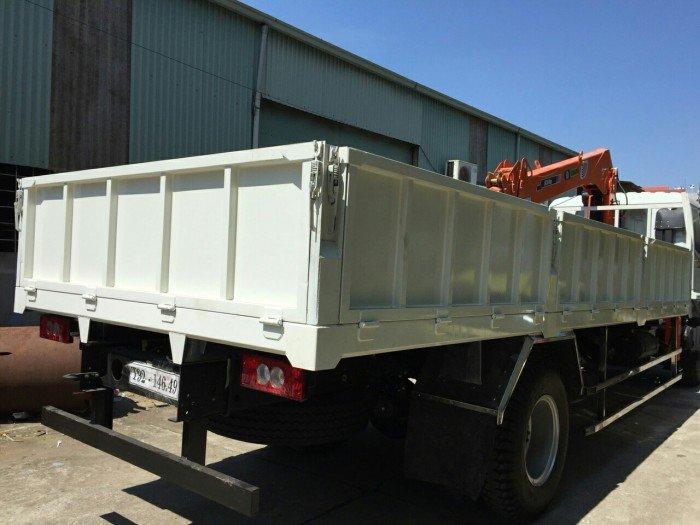 Xe tải Auman 9.4 tấn gắn cẩu 5 tấn