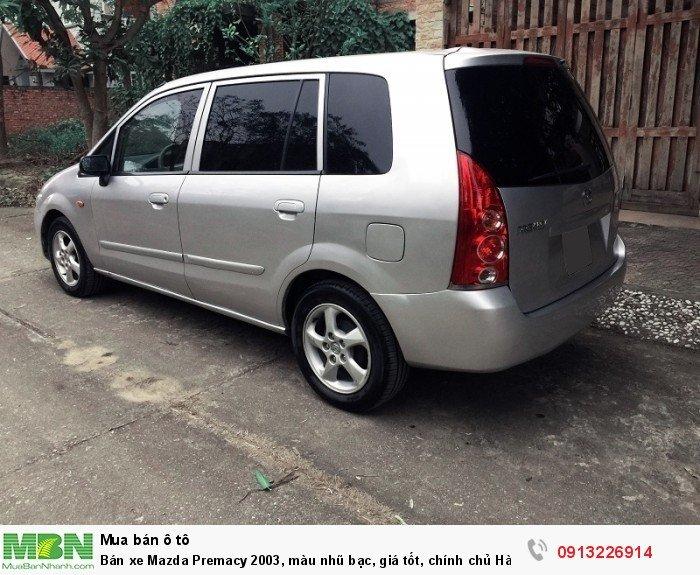 Bán xe Mazda Premacy 2003, màu nhũ bạc, giá tốt, chính chủ Hà Nội
