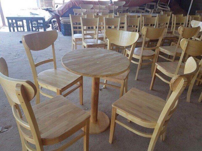 Bộ bàn ghế phòng ăn, 4 ghế, 1 bàn tròn0