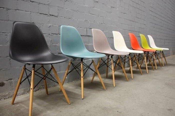 Ghế nhựa nhiều màu sắc sặc sở, miễn phí vận chuyển2