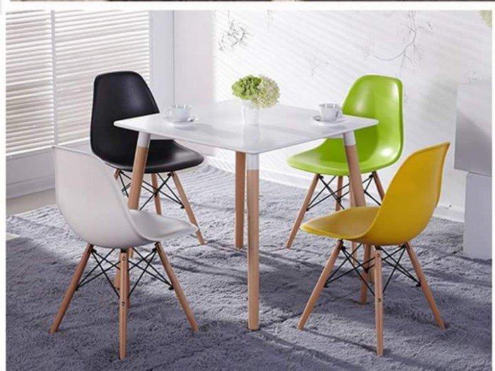 Ghế nhựa cafe chân gỗ, ghế có nhiều màu sắc. Liên hệ: 0906843059 Lê Hoàng (24/24)0