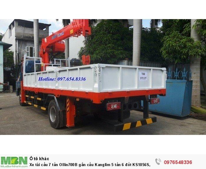 Xe gắn cẩu 5 tấn Ollin700B