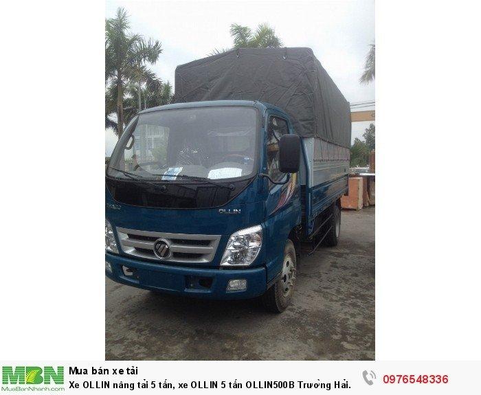 Xe OLLIN nâng tải 5 tấn, xe OLLIN 5 tấn OLLIN500B Trường Hải MỚI