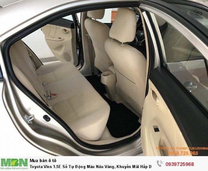 Toyota Vios 2018 nội thất rộng rãi, Tiện nghi thoải mái