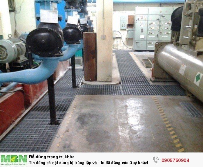 Sàn thao tác trên cao cách điện, chống cháy, sàn sợi thủy tinh frp grating23