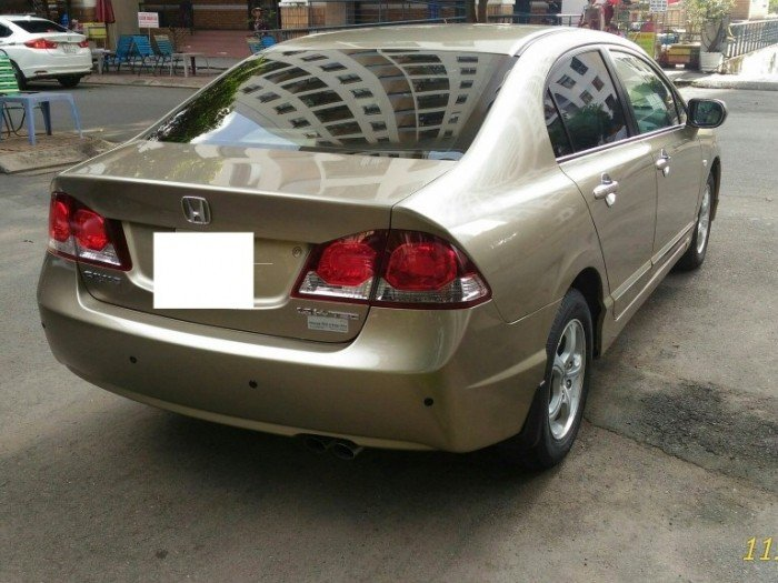 Cho thuê xe tự lái dòng Honda Civic 2012 mới, giá hữu nghị
