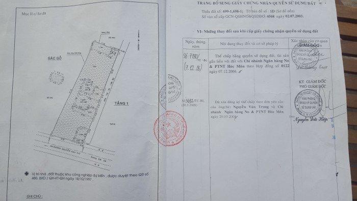 Cần bán nhà tại ht 13,p.Hiệp Thành quận 12