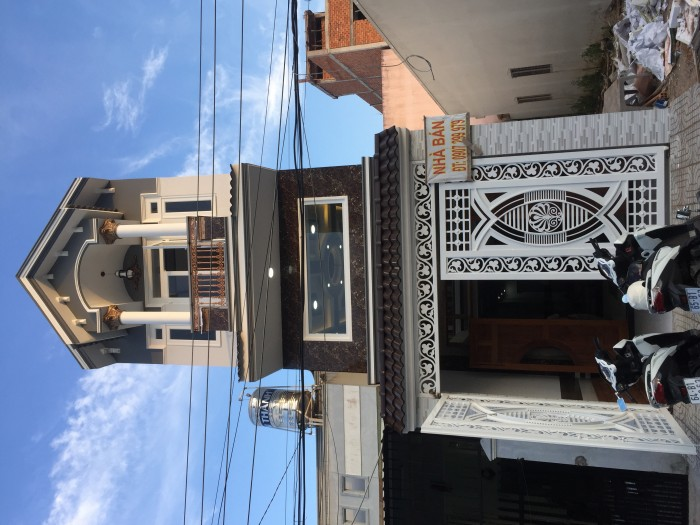 Bán nhà mới xd KDC Hàng Bàng- TPCT