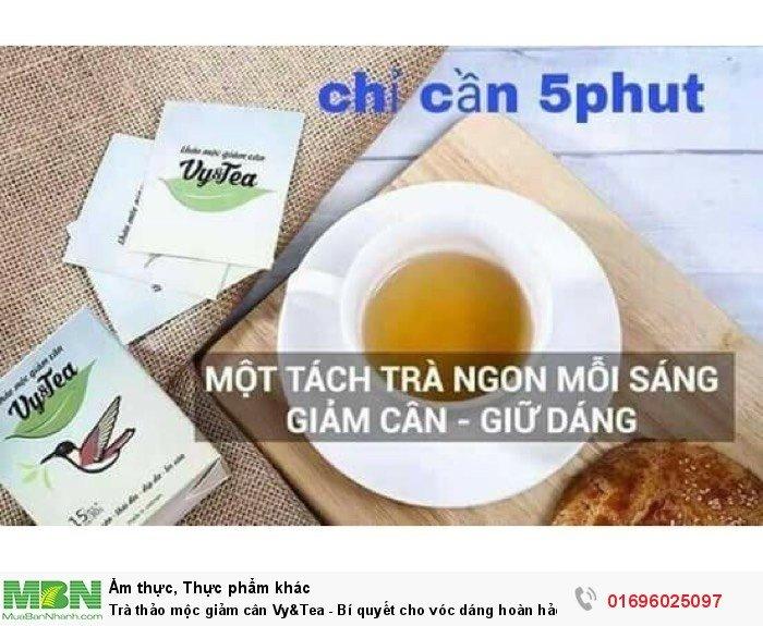 Trà thảo mộc giảm cân Vy&Tea - Bí quyết cho vóc dáng hoàn hảo1