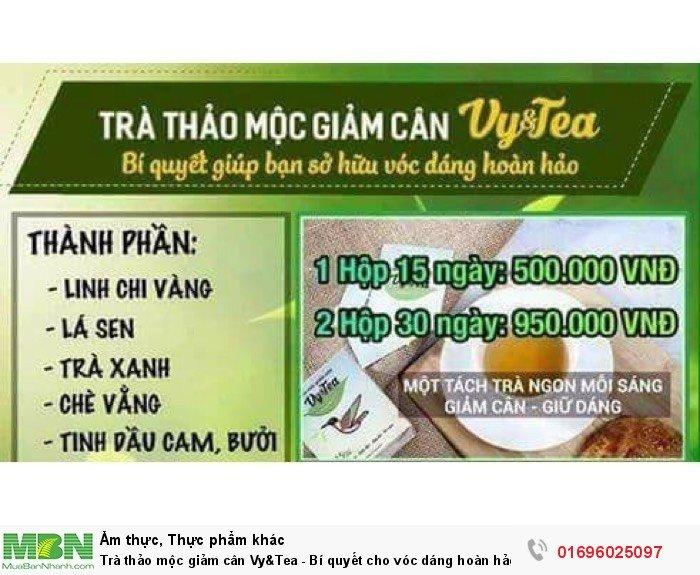 Trà thảo mộc giảm cân Vy&Tea - Bí quyết cho vóc dáng hoàn hảo3