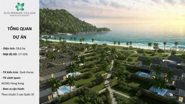 Bán căn biệt thự Sun Kem Beach Sun Group, duy nhất tặng 250 triệu, chiết khấu 20%