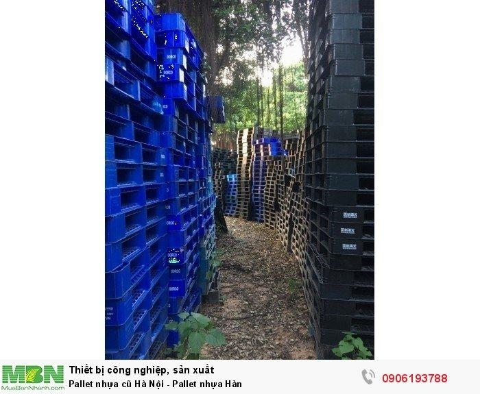 Pallet nhựa cũ Hà Nội - Pallet nhựa Hàn1