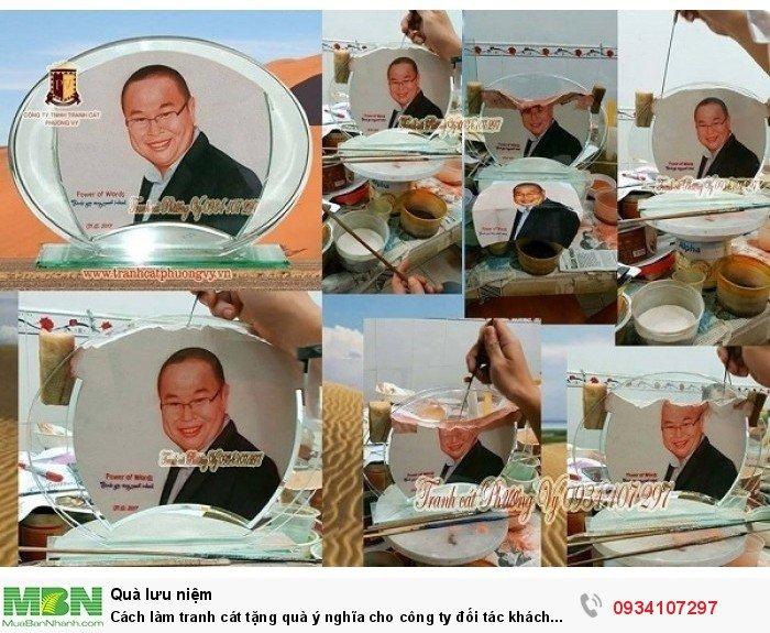 Cách làm tranh cát tặng quà ý nghĩa cho công ty đối tác khách hàng2