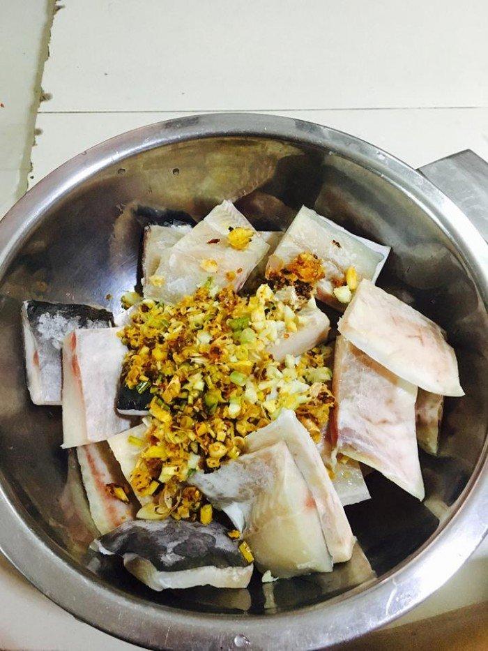khô cá dứa được làm thành nhiều món ăn hấp dẫn