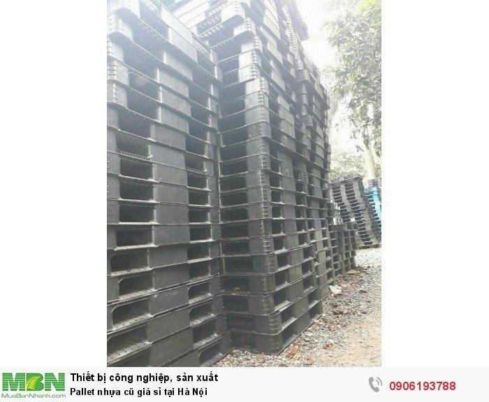 Pallet nhựa cũ giá sỉ tại Hà Nội