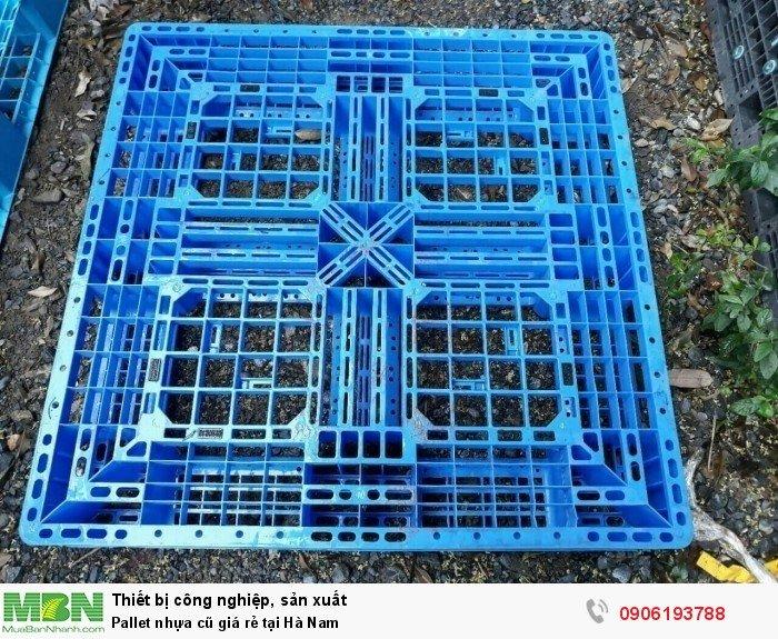 Pallet nhựa cũ giá rẻ tại Hà Nam