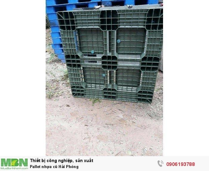 Pallet nhựa cũ Hải Phòng