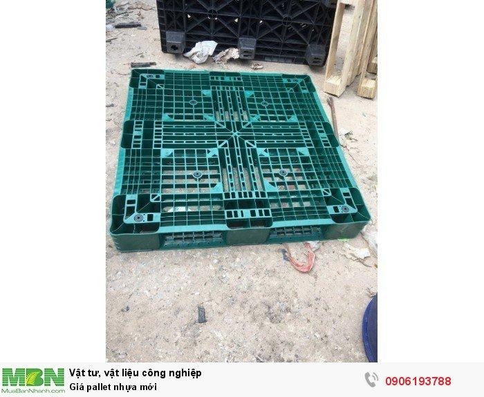 Pallet nhựa mới giá rẻ tại Hà Nội, nhập khẩu Nhật Bản, Hàn Quốc, Ấn Độ
