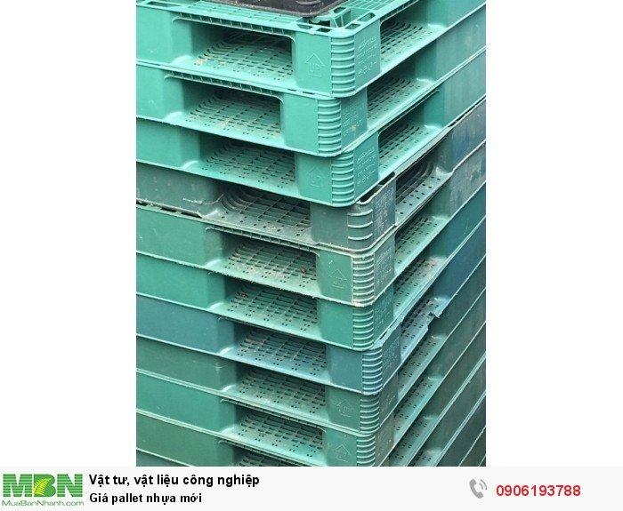 Pallet nhựa mới giá rẻ tại Hà Nội mới nhất - Hotline: 0906193788 (24/24)