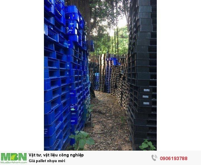 Pallet nhựa mới giá rẻ tại Hà Nội - Miễn phí vận chuyển, đảm bảo giá rẻ
