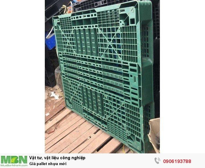 Pallet nhựa mới giá rẻ tại Hà Nội
