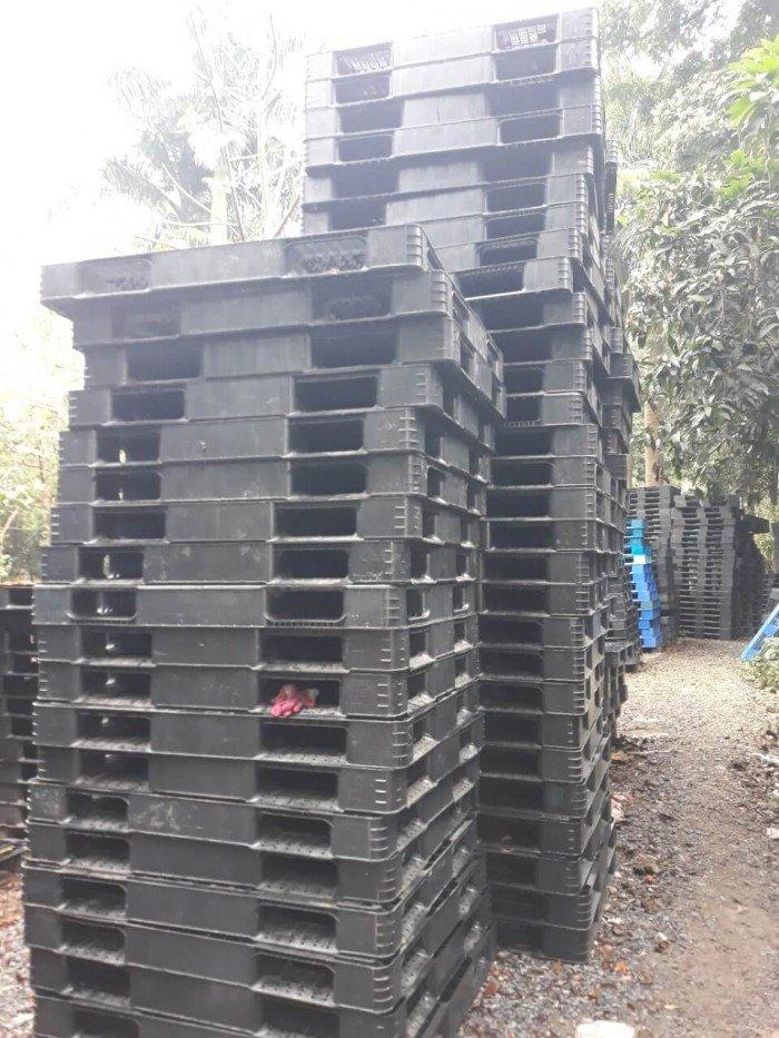 Pallet nhựa cũ giá rẻ, giá sỉ tại Bắc Ninh - Hotline: 0906193788 (24/24)