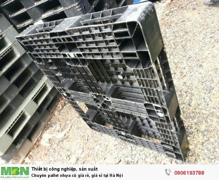 Chuyên pallet nhựa cũ giá rẻ, giá sỉ tại Hà Nội1