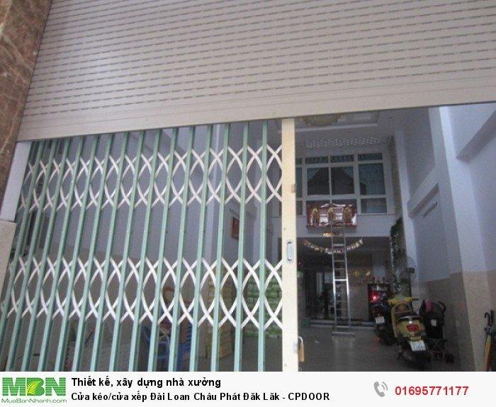 Cửa kéo/cửa xếp Đài Loan Châu Phát Đăk Lăk - CPDOOR