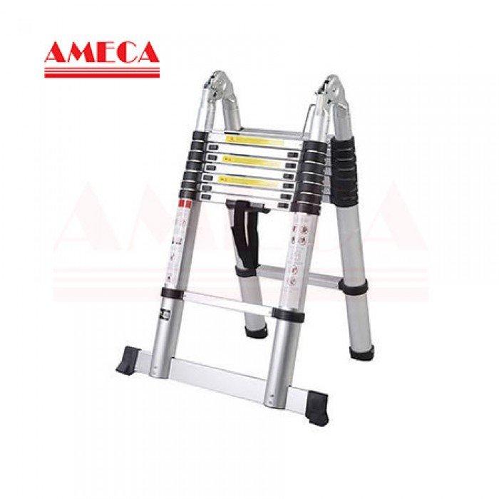 Thang nhôm rút đôi Ameca AMI-560
