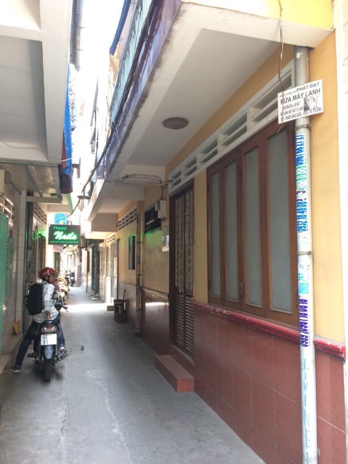 Hẻm ba gác, Trần Khắc Chân Q1 30m2