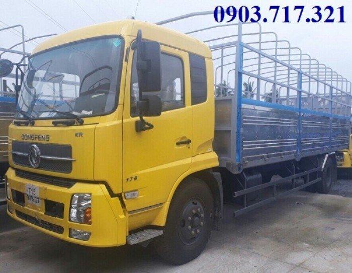 Xe tải DongFeng Hoàng Huy B170/DongFeng 9T35/9Tan35/9.35 tấn thùng dài 7m5
