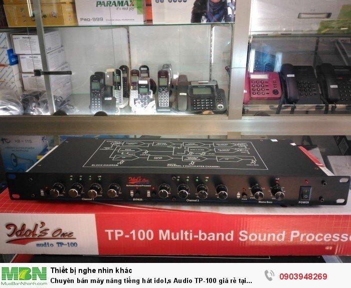 Bộ nâng tiếng Idol's One Audio TP-100 là dòng sản phẩm mới có mặt tại thị trường Việt nam, Trọn bộ nguyên hộp gồm có: Đầu Idol's One Audio TP-100, dây nguồn, hướng dẫn sử dụng0