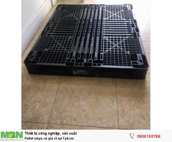 Pallet nhựa cũ giá rẻ tại Tphcm. Chất lượng nhựa Long Thành. Liên hệ: 0906193788 (24/24 -  Phòng Kinh Doanh)5
