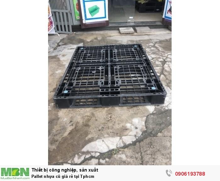 Pallet nhựa cũ giá rẻ tại Tphcm8