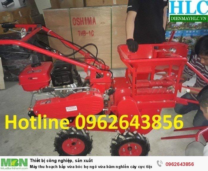Máy thu hoạch ngô 09626438560