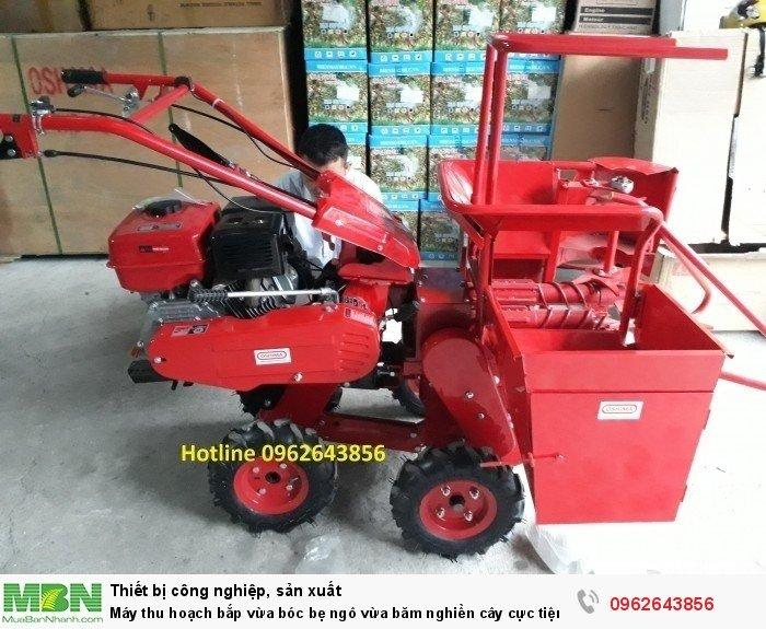 Máy thu hoạch bắp đa năng 09626438564