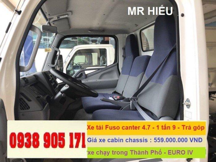 Bán xe tải Fuso Canter 4.7 ; Fuso Canter 6.5 mới 2018 thaco Trường Hải giá tốt nhất